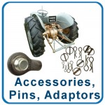 Tractor Accessories, Pins & Adaptors
