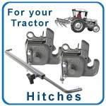 Tractor Hitches: front & rear